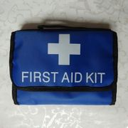 VEHICLE & LOW RISK SOFT CASE-FIRST AID KIT BLUE