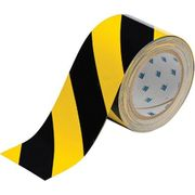 BRADY TAPE TOUGHSTRIPE BLACK/YELLOW  50MM ROLL