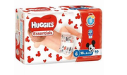 Huggies Essential Nappies Junior Pk160