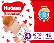Huggies Essential Nappies Toddler Pk184