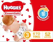 Huggies Essential Nappies Walker Pk176