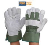 EXTRA REINFORCED HEAVY DUTY LEATHER GLOVE / PAIR