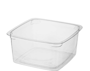 MPM Clear Square PET Tub 250ml / 500