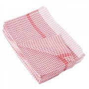WONDERDRY TEA TOWEL RED - 762X508MM (PACK 10)