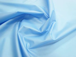 Sky Blue PU Coated Taffetta
