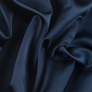 Navy Satin Heavy