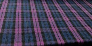 Blackwatch Tartan Purple