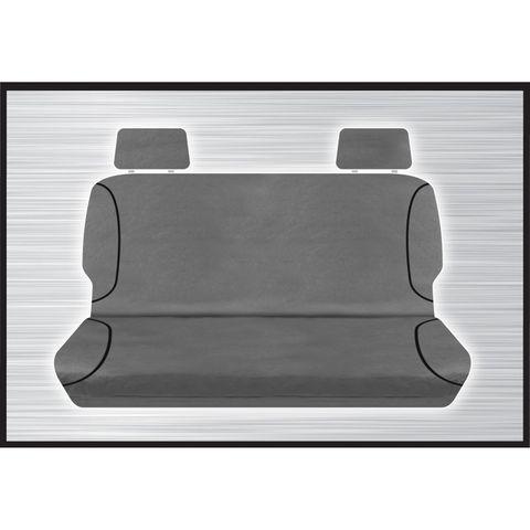 Tradies Grey Rear Seat Cover - Triton 2015+