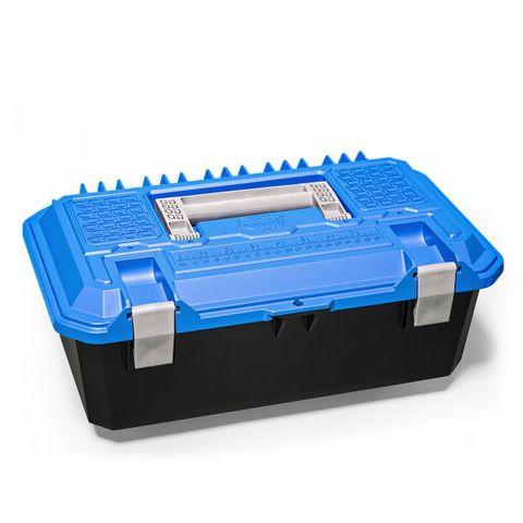 Decked Cross Box Narrow Drawer Tool Box Blue