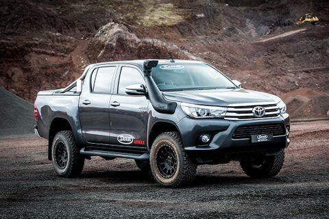 Safari Armax Snorkel Toyota Hilux 2015+ (wide body)