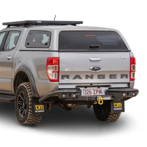 TJM RB6 Rear Protection Step Towbar Ranger/BT50 new version