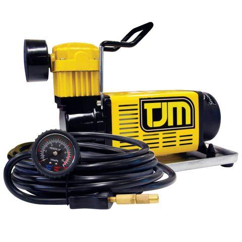TJM Portable Air Compressor Kit incl hose and bag