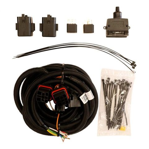 TJM Supplementary Wiring Kit for RB6 Rear Bar Triton