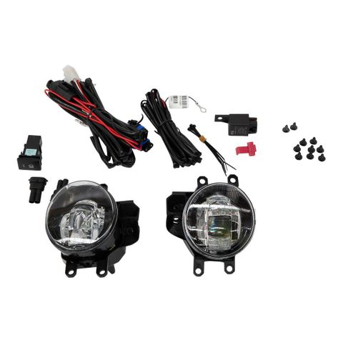 TJM Fog Light Kit LED inc Loom & Brackets