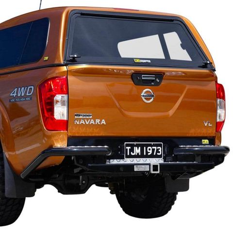 TJM RB6 Rear Protection Step Towbar Navara NP300 2015+