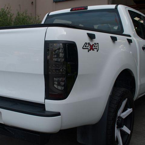 Ranger LED Tail Lights Smoke (pair)
