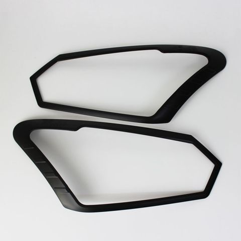 *D-Max Head Light Trim Black Cover Set
