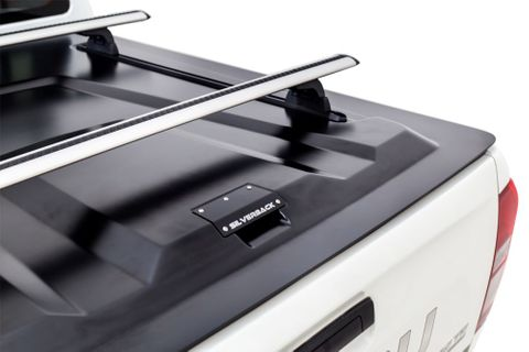 Rhino Silverback 2 Bar Vortex Track System Black