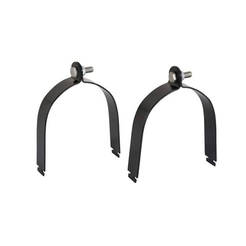 Rhino Vortex Pipe Clamps 100mm Pair