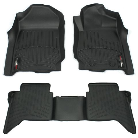 WeatherTech 2016+ Hilux Full Mat Set
