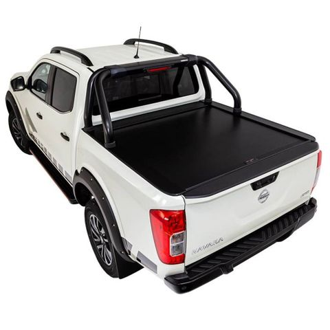 HSP Electric Roll Top Lid - Navara With Sports Bar Kit