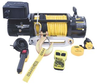 TJM Torq Electric Winch 12000LB (5440kg) incl Synthetic Rope