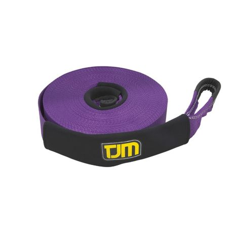 TJM Purple Winch Ext Strap 20m 6T