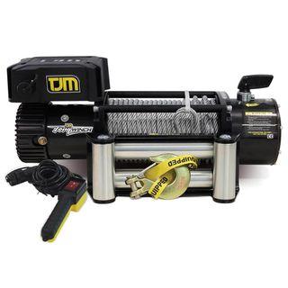 TJM Torq Electric Winch 9500LB (4300kg) incl Steel Cable