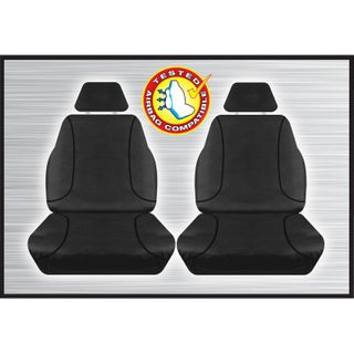 Tradies Black Front Seat Cover - D-Max Colorado (pair)