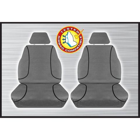 Tradies Grey Front Seat Cover - Navara (pair)