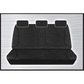 Tradies Black Rear Seat Cover - Ranger / BT50