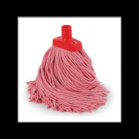 B 400gm Cut End Value Mop Head Red