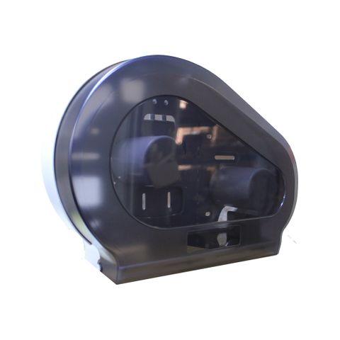 Jumbo Toilet Roll Dispenser Twin