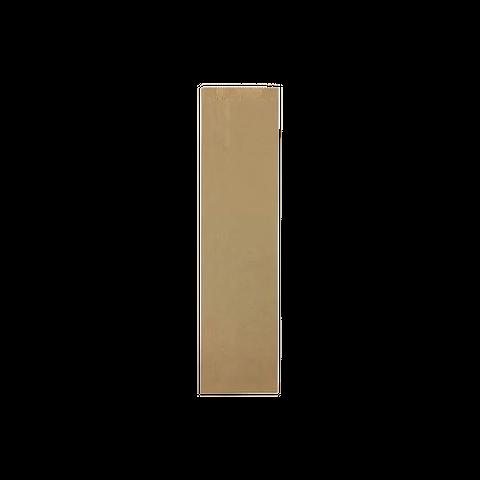 Q Brown Bottle Bag #1 - 500pcs/pkt