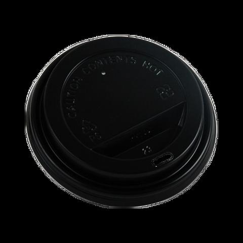 Q Coffee Cup Lids Black 8/12/16oz 500pcs