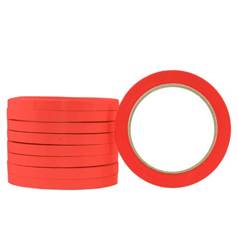 P 9mm Red Neck Tape 3x16rolls 48r/ctn