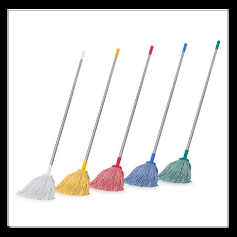 B 400gm Value Mop + Handle Set Yellow