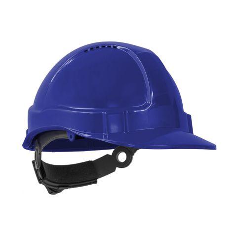 TN Hard Hat Short Peak R/Lock Blue