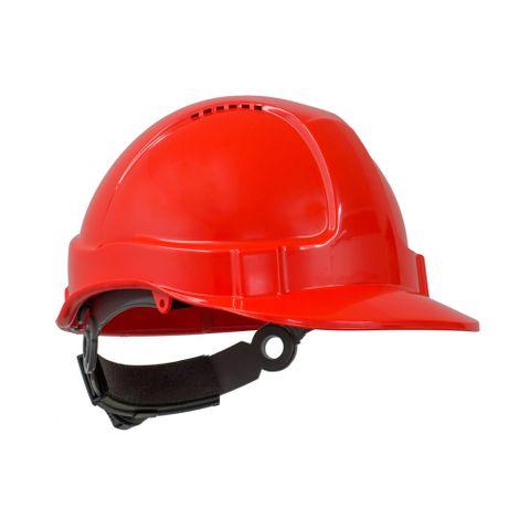 TN Hard Hat Short Peak R/Lock Neon O