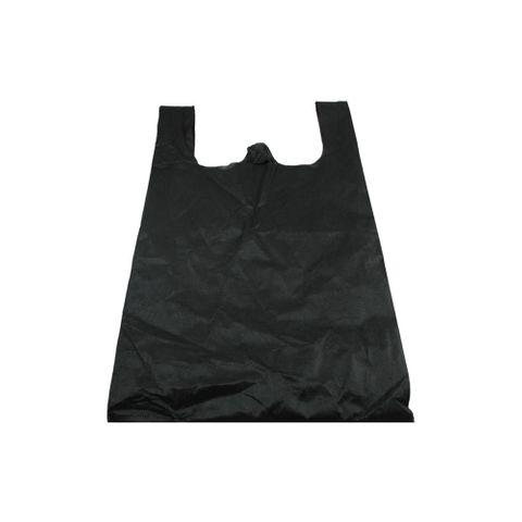 Q Medium Black N/Woven Bag 500pcs/ctn