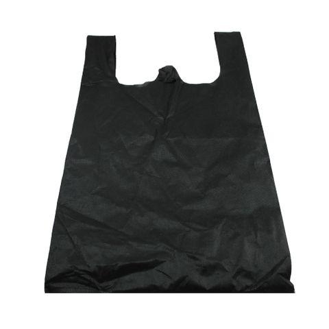 Q Large Black N/Woven Bag 500pcs/ctn