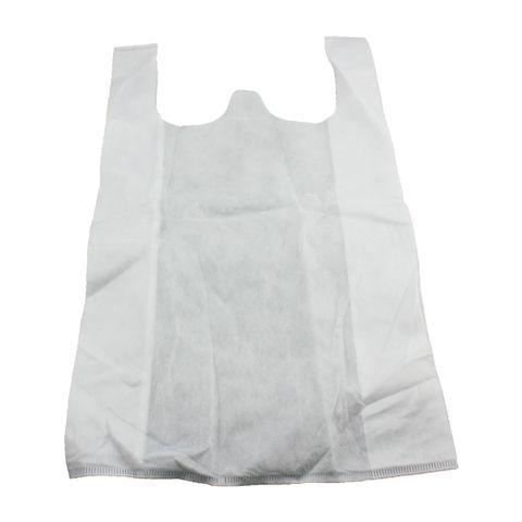 Q Large White N/Woven Bag 500pcs/ctn