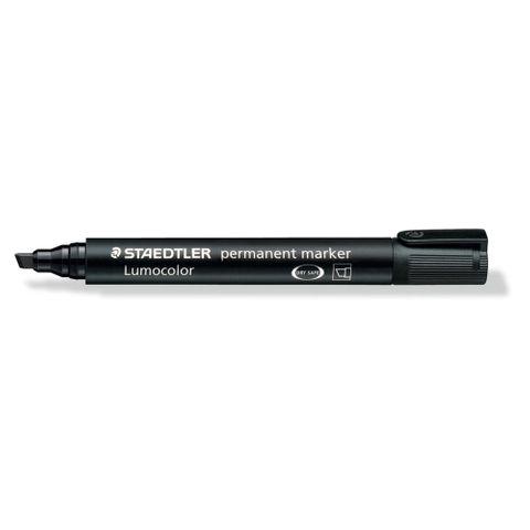 S Marker Black Chisel Tip 10pk