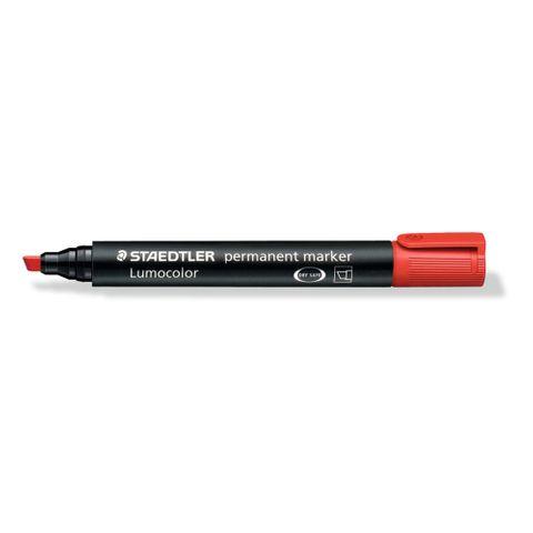 S Marker Red Chisel Tip 10pk