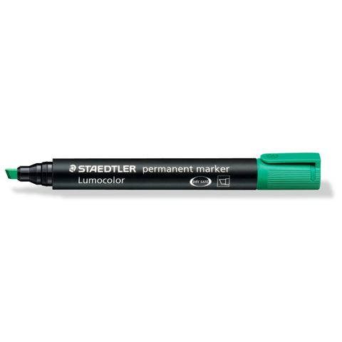 S Marker Green Chisel Tip 10pk
