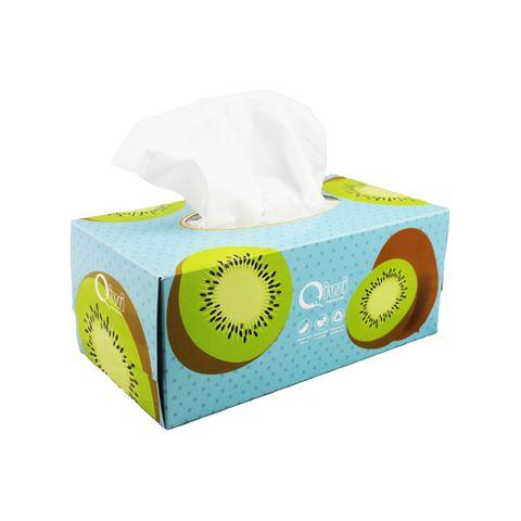 Q Facial Tissue Boxed 150s 24pk/ctn