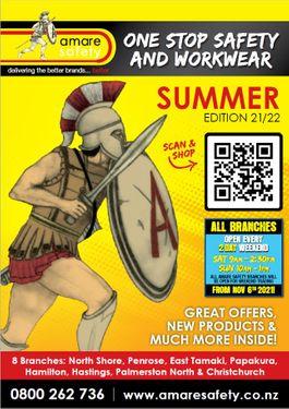 Amare Summer Catalogue 21/22
