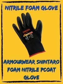 armourwear shintaro nitrile foam safety glove