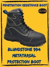 Blundstone 994 Metattarsal Penetration Safety Boot