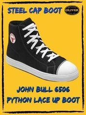 John Bull 6506 Pyhton Steel Cap Lace Up Safety Boot